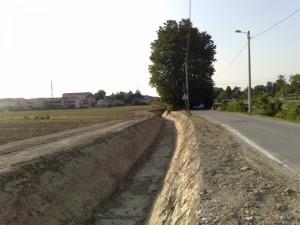 Lavori di ripristino e allargamento del fosso by pass a Favaro Veneto