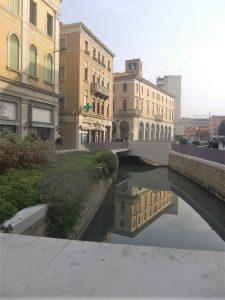 Il Marzenego da Largo Divisione Jiulia al ponte della Campana (seconda parte stombinata)