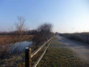 La passeggiata ciclo-pedonale verso Passo campalto