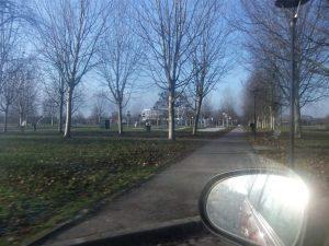 In auto nel Parco!